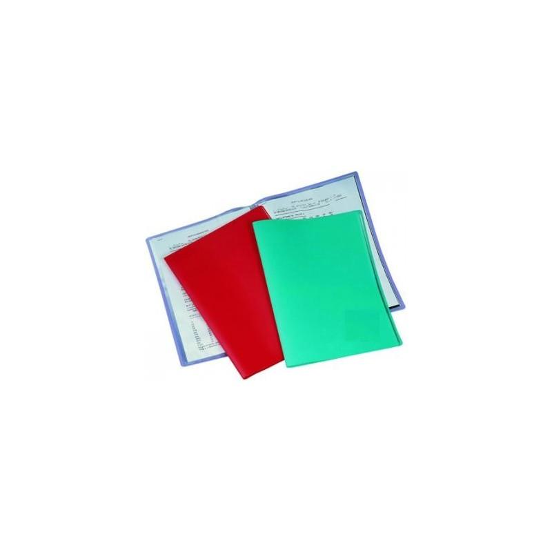 Porte tarif 60 vues a4 coul rouge vert mon livre scolaire for Porte vues 60