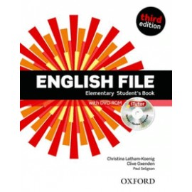 ENGLISH FILE ELEMENTARY STUDENT'S BOOK -3ED
