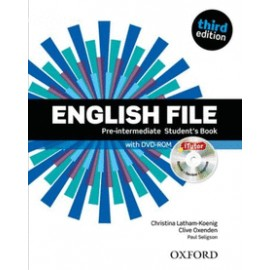 ENGLISH FILE PRE-INTERMEDIATE STUDENT'S BOOK -3ED