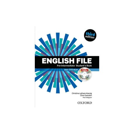 ENGLISH FILE ELEMENTARY WORKBOOK STUDENT'BOOK -3ED