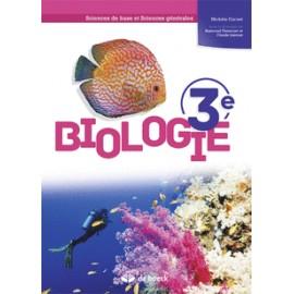 BIOLOGIE 3e – Manuel - Sciences de base et Sciences générales