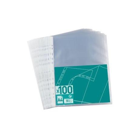 Prot Ge Document Plastique Transparent Perfor A4 100 Mon Livre Scolaire