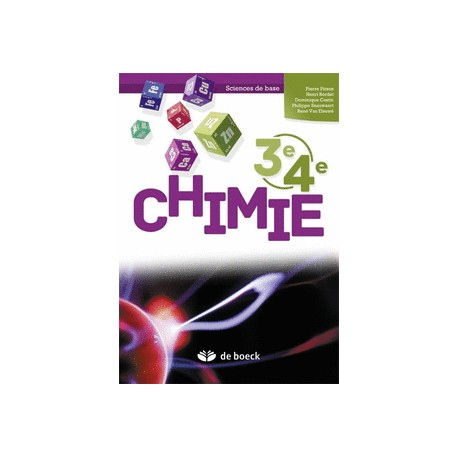 CHIMIE 3e/4e – Manuel - Sciences de base