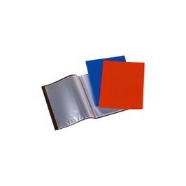 PORTE-TARIF 80 VUES A4 coul. Bleu/Rouge