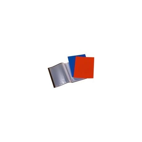PORTE-TARIF 80 VUES A4 bleu ou rouge