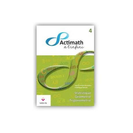 ACTIMATH A L'INFINI 4 - MANUEL
