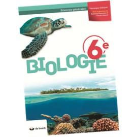 BIOLOGIE 6E MANUEL (2P/S) - Edition 2018