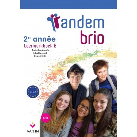 TANDEM BRIO 2 NEW - LEERWERKBOEK + CD Audio
