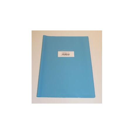 Couvre Cahier A4 Bleu Clair