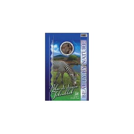 BLOC DESSIN BLANC 125gr (27x36cm)