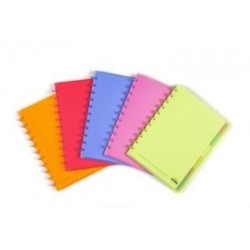 CAHIER ATOMA A4 COMMERCIAL PVC - 72F