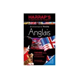 DICTIONNAIRE POCHE HARRAP'S / ANGLAIS - FRANCAIS