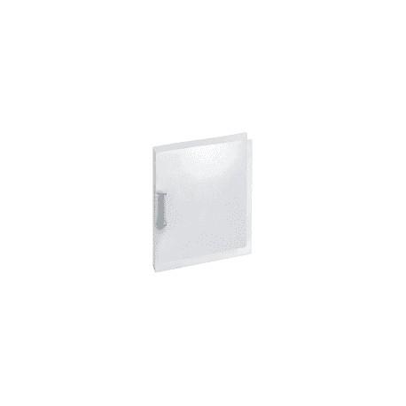 Classeur Souple PVC 2 Anneaux A4 2cm - Transparent