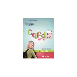 CQFD MANUEL 5è - 4h/sem