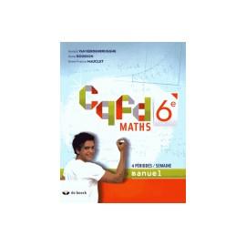 CQFD MANUEL 6è - 4h/sem
