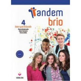 TANDEM BRIO 4 NEW - LEERWERKBOEK + CD Audio