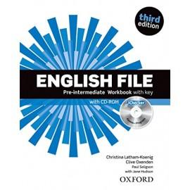 ENGLISH FILE PRE-INTERMEDIATE WORKBOOK & CULTURE AND READING COMPANION PACK -3ED