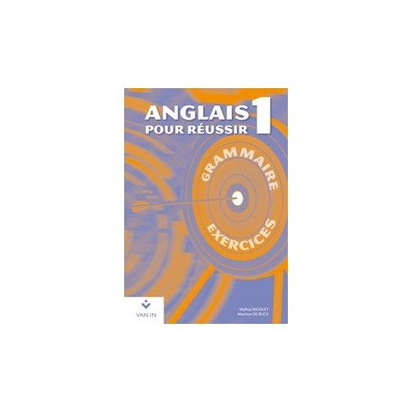ANGLAIS POUR REUSSIR 1 - CAHIER