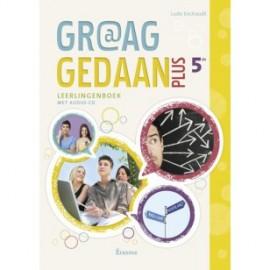 GRAAG GEDAAN 5è + Livre de l'Elève +CD