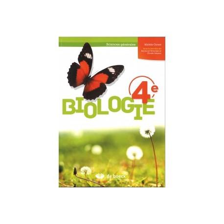 BIOLOGIE 4è Manuel- Sciences Générales (2 Pér/sem) - Ed. 2016