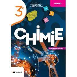 CHIMIE 3e – Manuel - Sciences générales - NOUV. EDITION