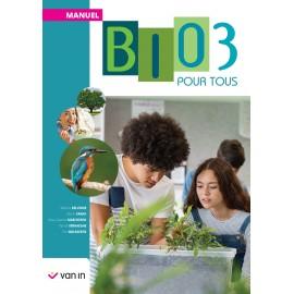 BIOLOGIE POUR TOUS 3 - MANUEL - NOUV.EDITION