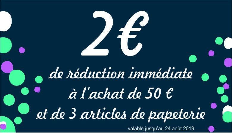Réduction 2 euros
