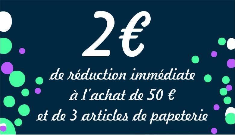 Réduction 2 euros