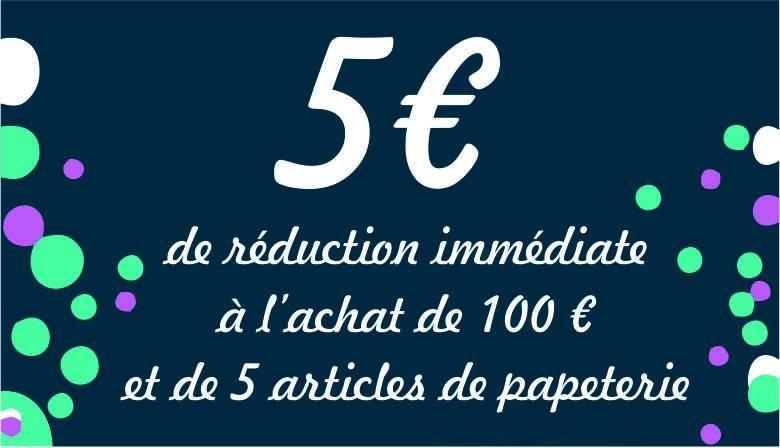 Réduction 5 euros