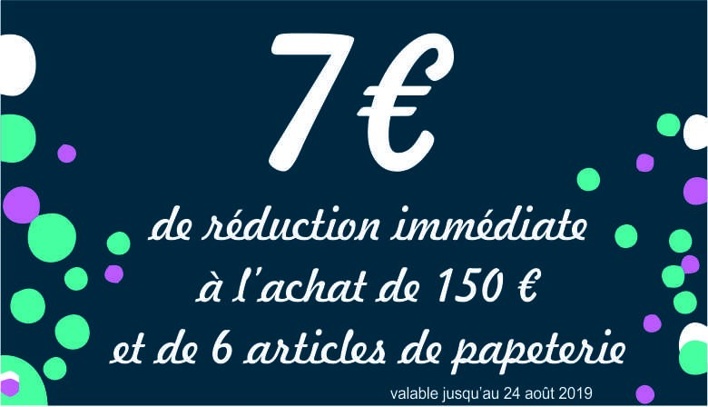Réduction 7 euros