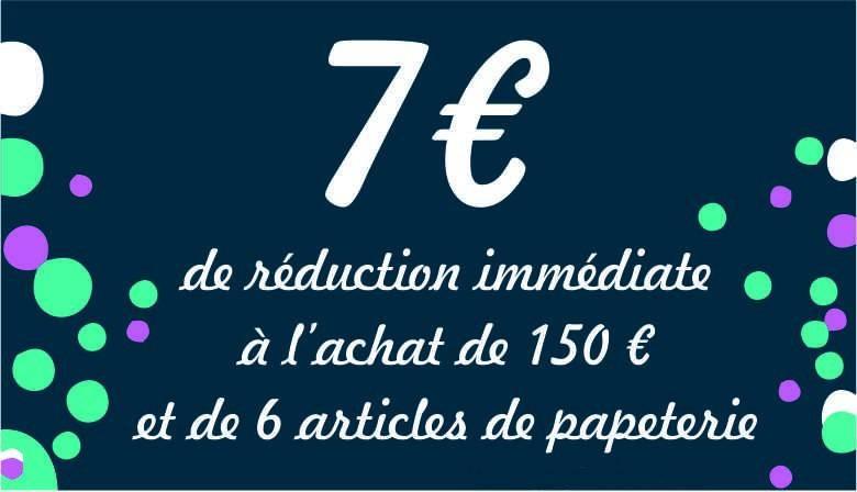 Réduction 7 euros