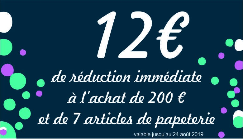 Réduction 12 euros