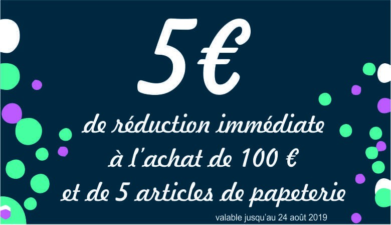 Réduction 5 euros